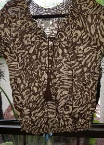 Brown - Size M - Top